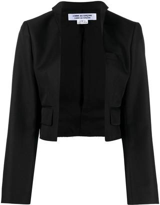Comme des Garçons Comme des Garçons Cropped Tailored Jacket