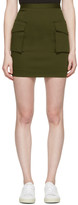 DSQUARED2 Green Cargo Skirt
