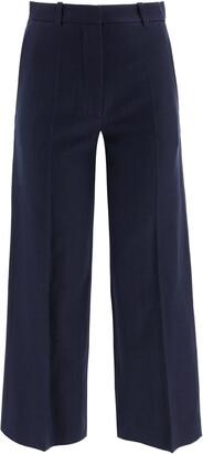 Kenzo FLARED JEANS 34 Blue Cotton, Linen