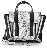 3.1 Phillip Lim Pashli Medium Mixed-Media Satchel