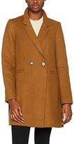 Warehouse Women's Clean Crombie Coat