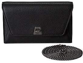 Akris Women's Mini Anouk Envelope Metallic Leather Crossbody Bag