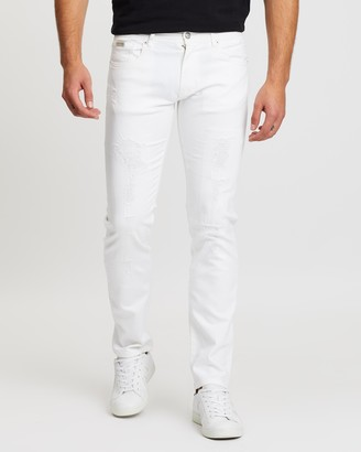 Armani Exchange Slim Fit Five-Pocket Jeans