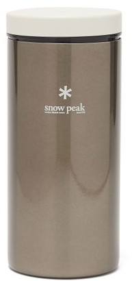 Snow Peak Kanpai Insulated Stainless-steel 350ml Bottle - Silver