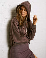 Aeo Don't Ask Why Boxy Crop Hoodie