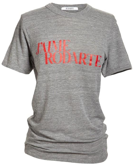 Rodarte 'J'Aime Rodarte' Heathered T-Shirt (Nordstrom Exclusive)