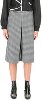 J.W.Anderson Box-pleat wool-blend culottes