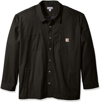 Carhartt Men's Big & Tall Rugged Flex Rigby Shirt Jacket