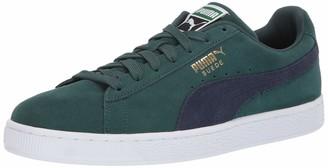 Puma Men's Suede Classic Sneaker Mole White 4.5 M US