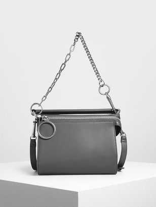 Charles & Keith Ring Zip Bag