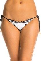 Vix Paula Hermanny Stripes Ripple Tie Side Full Bikini Bottom 8132796