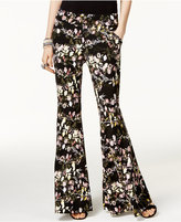 INC International Concepts Printed Flare-Leg Pants, Only at Macy's