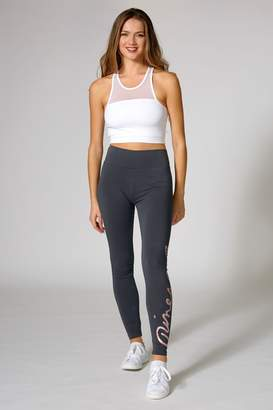 Pineapple Womens Exclusive Wrap Logo Leggings - Grey