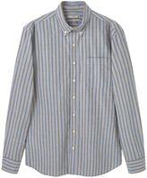 Mango Slim-fit Striped Cotton Shirt
