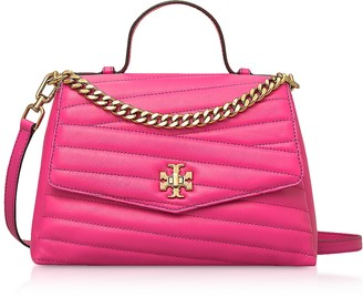 Tory Burch Kira Chevron Top-Handle Satchel Bag
