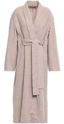 Vince Belted Wool-blend Felt Coat