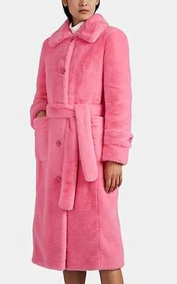 Stand Studio Women's Charlotte Faux-Fur Coat - Pink