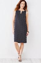 J. Jill Wearever Printed A-Line Dress