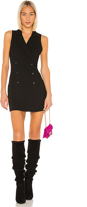 BCBGeneration Open Back Blazer Mini Dress