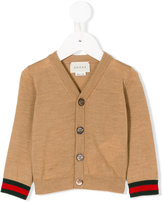 Gucci Kids - buttoned cardigan - kids - Wool - 6-9 mth