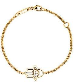 Chopard Women's Happy Diamonds Hamsa Hand Diamond & 18K Rose Gold Bracelet