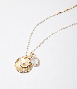 LOFT Coin Charm Necklace
