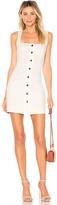 superdown Demi Button Up Mini Dress