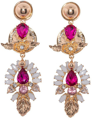 Ashlee Lauren Zaliki Jewel Earrings