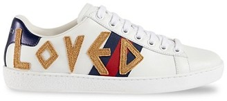 Gucci New Ace Embroidered Sneakers