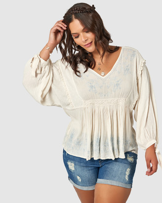 Jaggar Embroidered Top