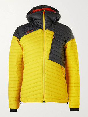 Phenix Alpine Interlock Slim-Fit Colour-Block Quilted Ski Jacket