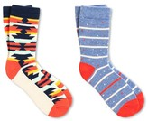 Pair of Thieves Kids' Pair of Thieves Crew Socks Denim Nep Stripe