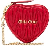 Miu Miu quilted chain detail purse