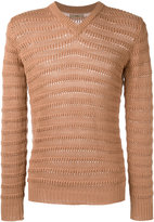 Nuur ribbed trim jumper - men - Cotton - 46