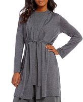 Eileen Fisher Simple Cardigan with Ties