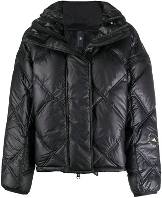 adidas by Stella McCartney Convertible Hooded Puffer Jacket