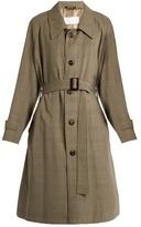 Maison Margiela Oversized wool trench coat