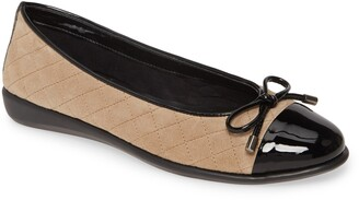 The Flexx Riseco Quilted Ballet Flat