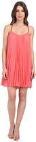 BCBGMAXAZRIA Cayanne Sleeveless Pleated Dress