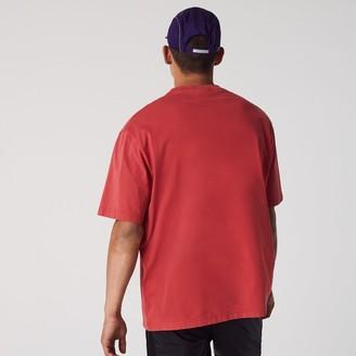 Lacoste Men's CONCEPTS Collaboration Cotton Crewneck T-Shirt