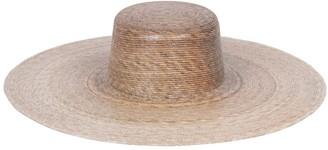 LACK OF COLOR Palma Wide Brim Raffia Boater Hat