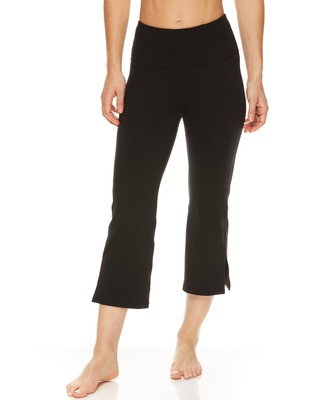 Gaiam Women's Om High-Waisted Kick Capris