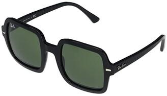 Ray-Ban 53mm RB2188 Square Sunglasses (Black/Grey) Fashion Sunglasses