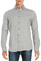Black Brown 1826 Pocket Flannel Sportshirt