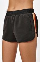 La Hearts Multi Stripe Jogger Shorts