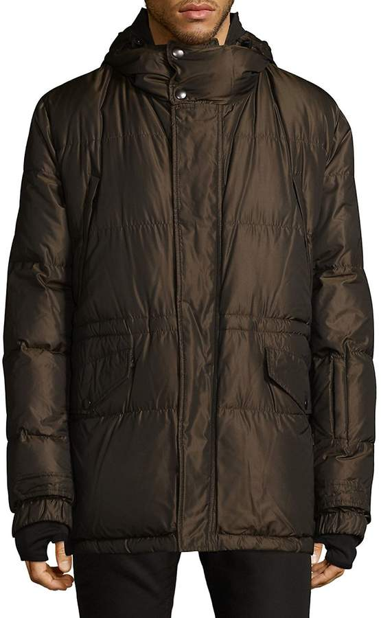 Dolce & Gabbana Men's Quilted Down-Filled Jacket