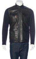 Vince Leather Field Jacket