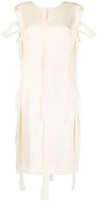 Maison Margiela Ripped Midi Dress