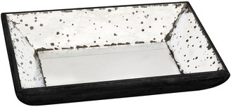 A&B Home Set Of 2 Glass Trays