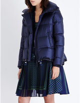 Sacai Quilted padded shell jacket